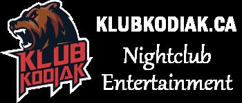 Klub Kodiak – Entertainment Playground Logo
